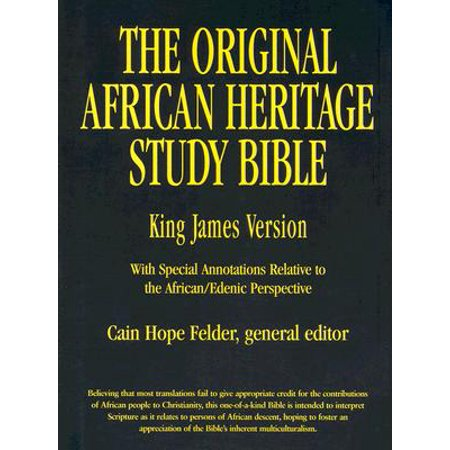 Original African Heritage Study Bible-KJV ()
