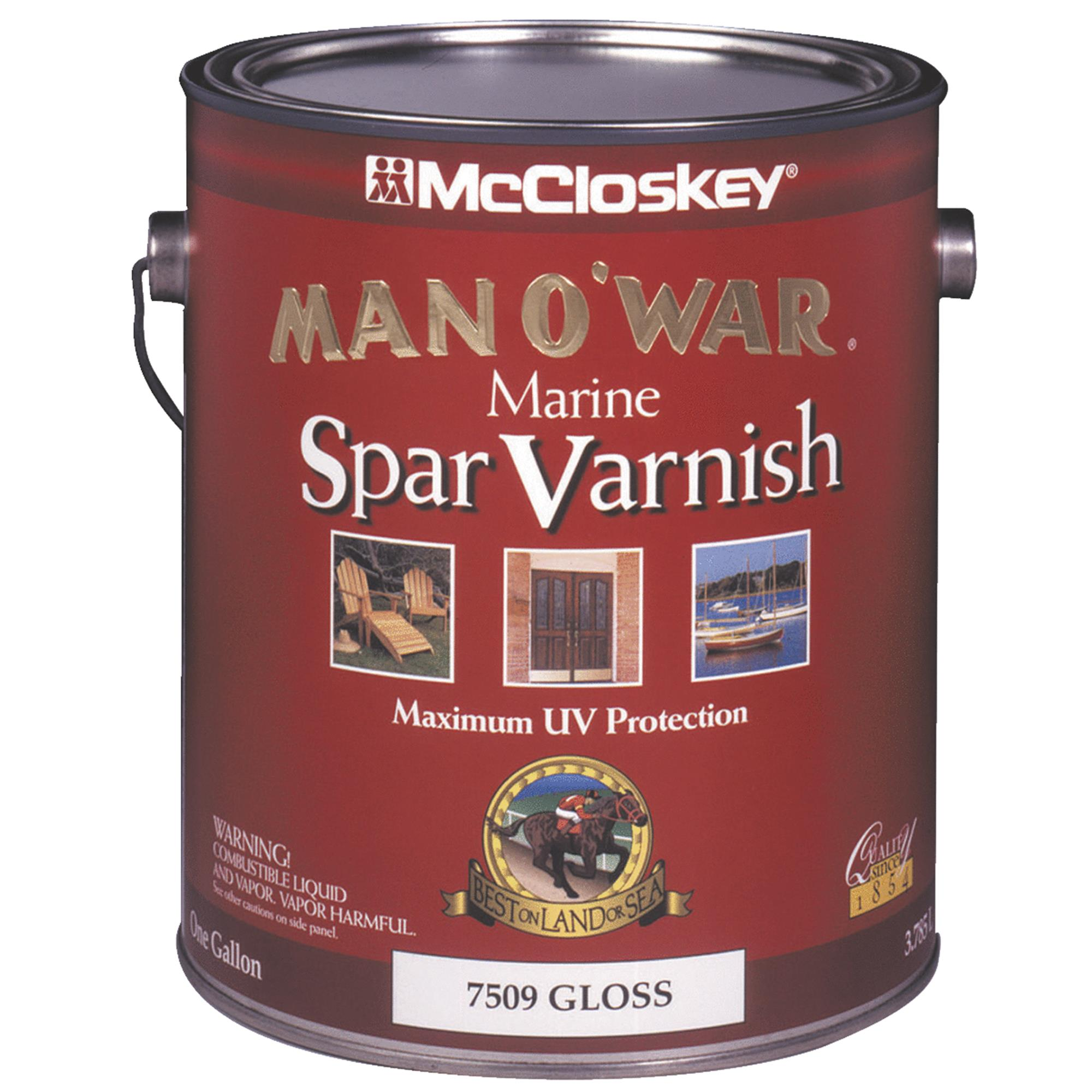 McCloskey Man O'War Spar Marine Interior & Exterior Varnish