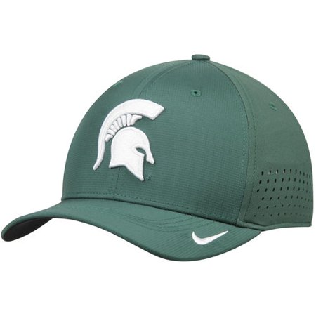 Men s Nike Green Michigan State Spartans Sideline Vapor Coaches ... 344883a6887
