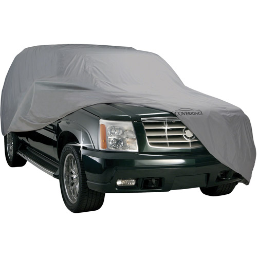 Coverking Universal Cover Fits SUV's (Full Size Bronco, Tahoe 2 Door, Landcruiser ) Triguard Gray