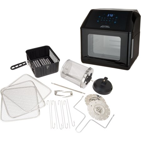 Power Air Fryer Oven Elite 6-qt with Accessories Model K48216-Refurbished