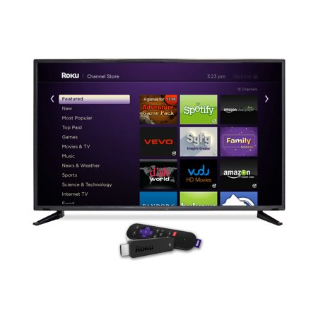 Sceptre X405bv Fsr Roku 40  Class Led Tv   1080P  60Hz With Roku Streaming Stick