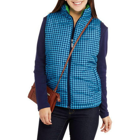i5 Apparel Women's Lightweight Puffer Vests with Contrast Lining - Gangster Vest