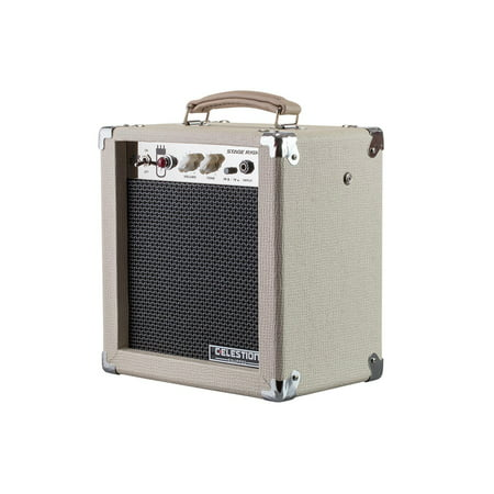 MONOPRICE 5-Watt, 1x8 Guitar Combo Tube Amplifier with Celestion Speaker Reverb Combo Amplifier