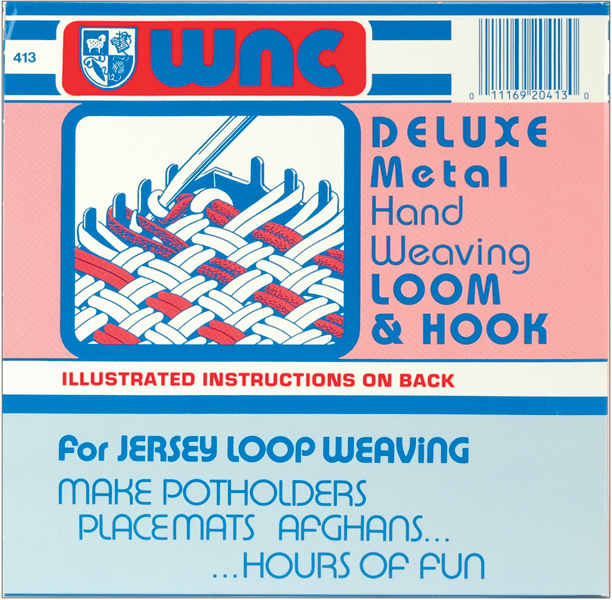 Wool Novelty Deluxe Hand Weaving Loom and Hook