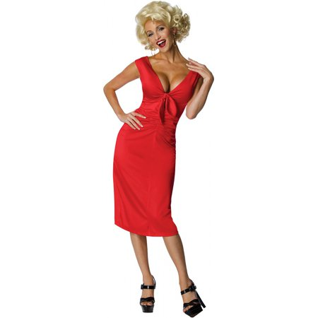 Marilyn Monroe Adult Costume - Large - Marilyn Halloween