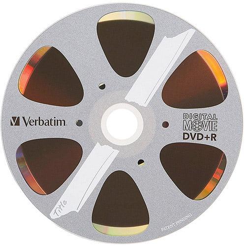 Verbatim Digital Movie 80MIN 700MB DVD+R, 10pk Bulk Box
