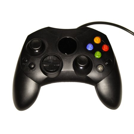Black XBox Original Controller Bundle - Controller and Extension Cable - by Mars Devices
