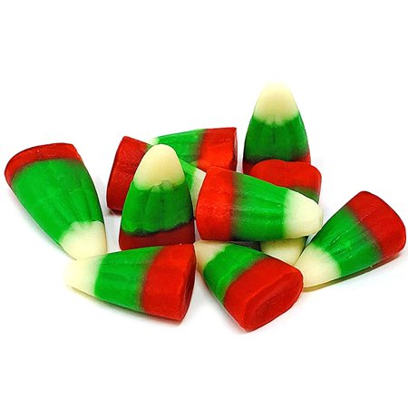 Candy Corn Art (SweetGourmet Holiday Candy Corn Red, White & Green | Bulk Christmas Candy | 2.5)