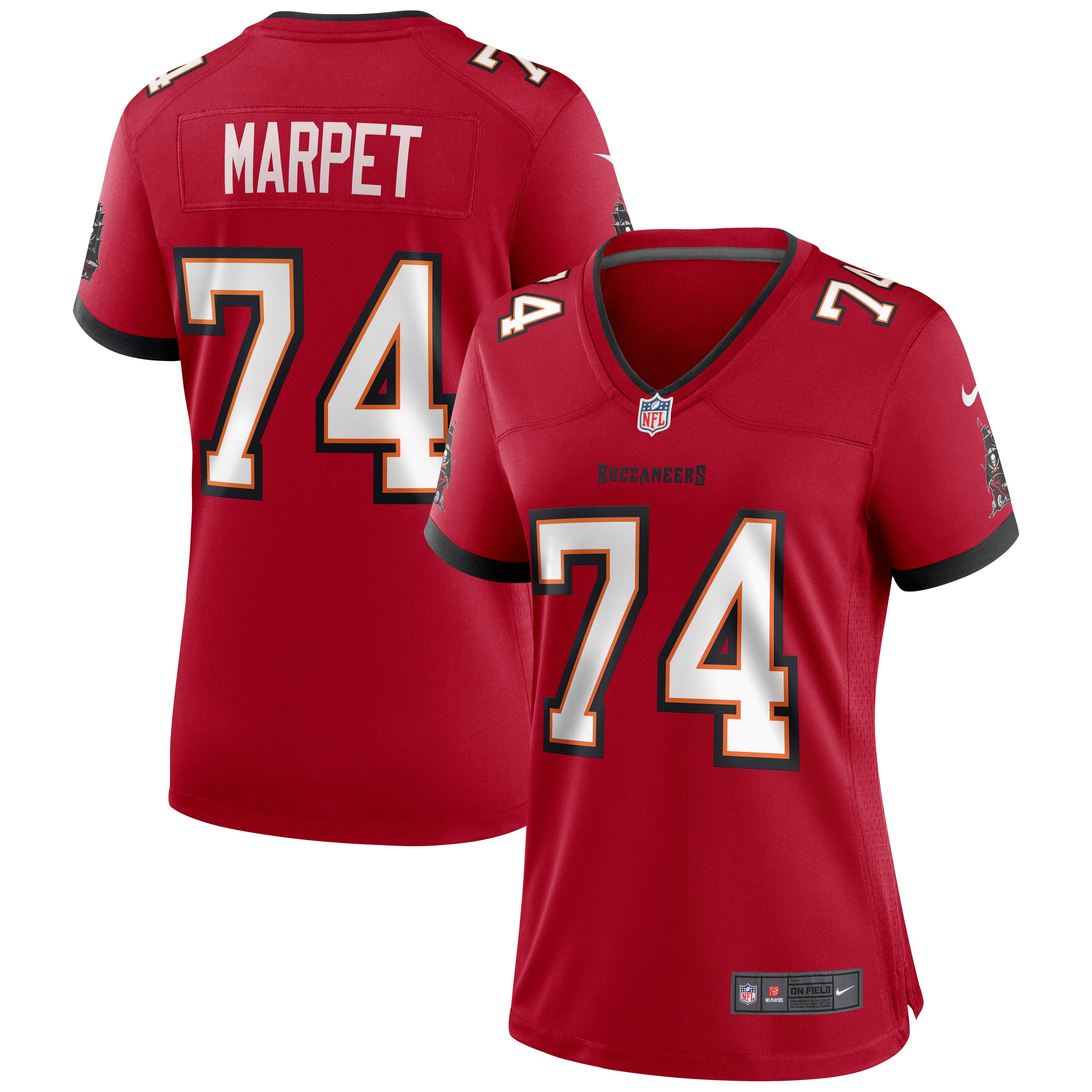 Ali Marpet Tampa Bay Buccaneers Nike Women's Game Jersey - Red - Walmart.com