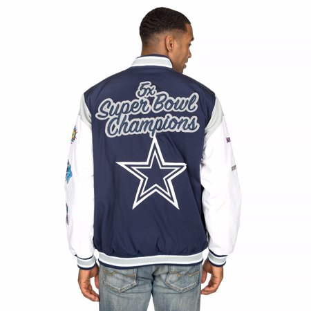 Dallas Cowboys Mens Jackets - Dallas Cowboys Championship Elite Varsity Jacket