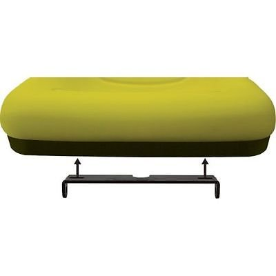 Yellow HIGH BACK SEAT w/ Pivot Rod Bracket for John Deere 325 335 345 415 425 by The ROP Shop