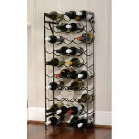 Commercial Unfinished Wine Racks (Oenophilia Alex 40-Bottle Cellar Wine Rack)