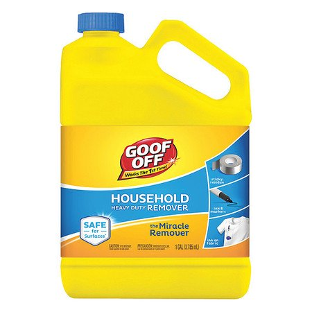 Goof Off FG722 1 gal. Heavy Duty Remover, Bottle