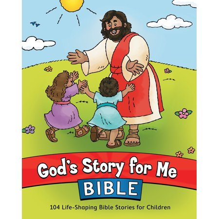 God's Story for Me Bible : 104 Life-Shaping Bible Stories for Children (Halloween Stories Online For Kids)