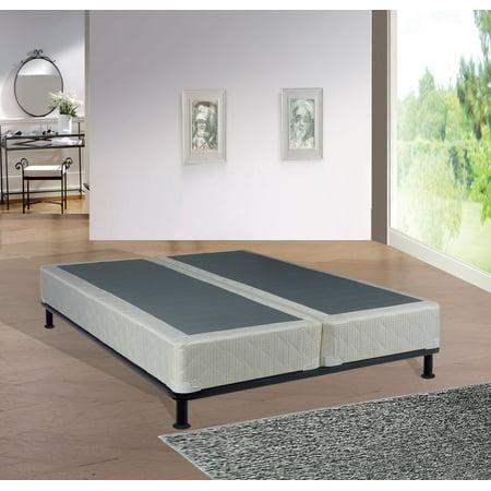 wayton 8 assembled metal split box spring foundation for mattress king size. Black Bedroom Furniture Sets. Home Design Ideas