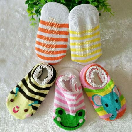 Baby Early Education Cartoon Dispensing Bottom Boat Socks Baby Anti-skid Socks - image 3 of 10