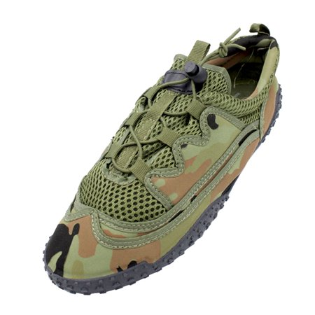 Easy USA Mens Quick Drying Camo Water Shoes Barefoot Sports Swim Beach Aqua Socks