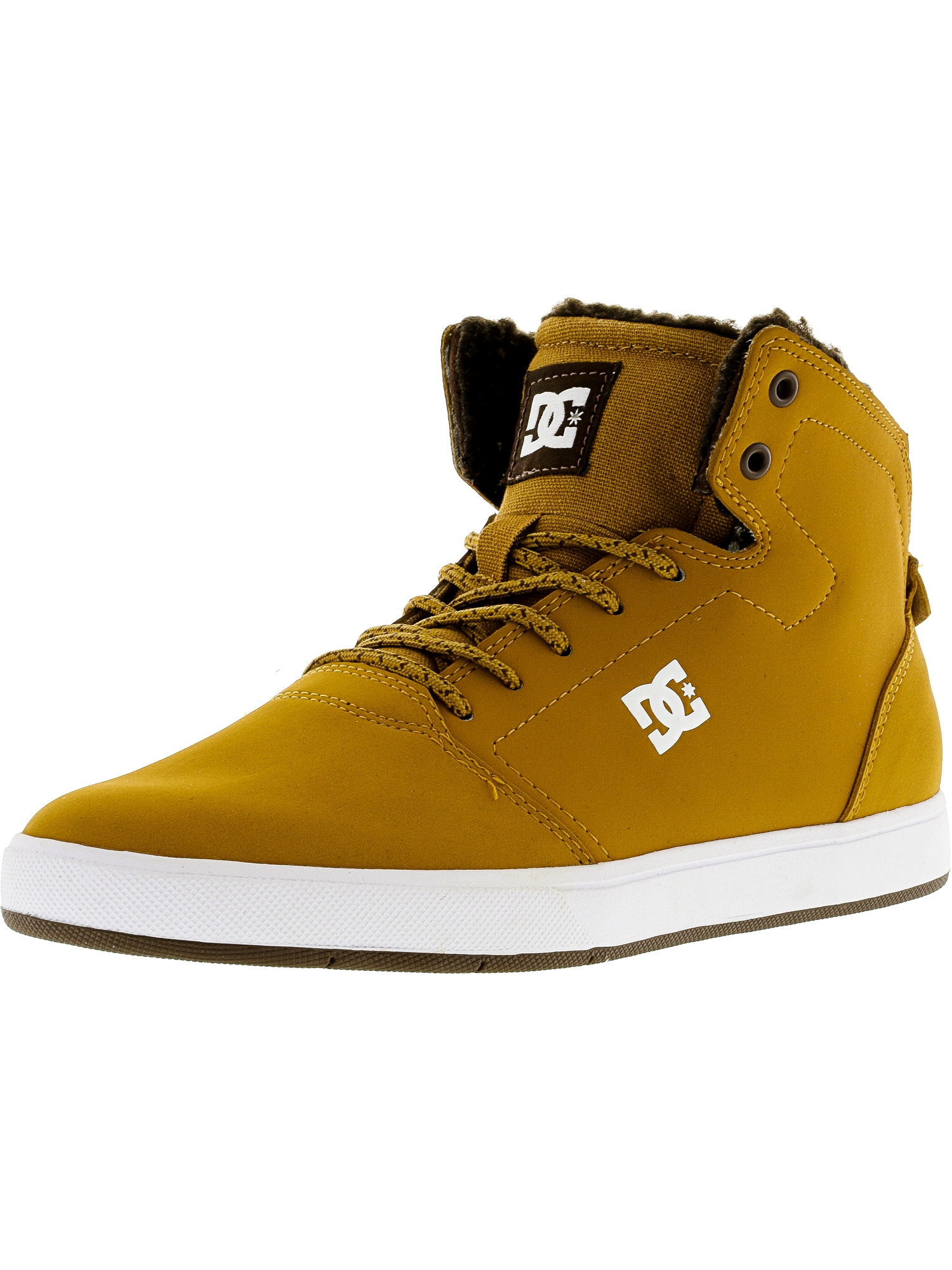 Dc Men's Crisis High Wnt Wheat Ankle-High Suede Fashion Sneaker - 7M