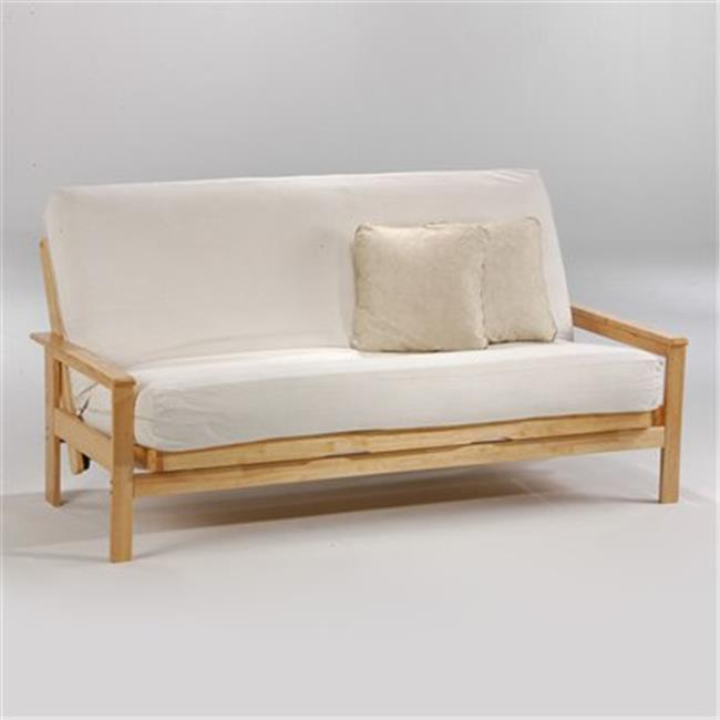 Night and Day Furniture Online LABY-QEN-HIC Albany Queen Futon Frame Hickory by Night and Day Furniture