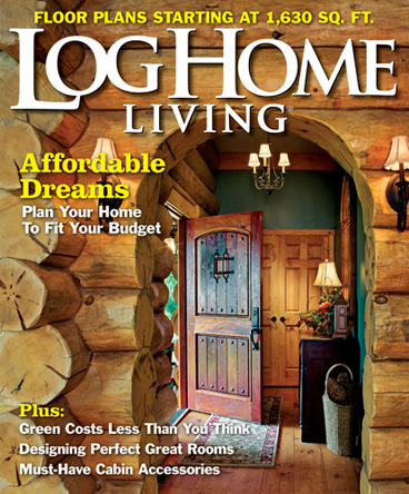 Time Inc. Magazine Log Home Living Magazine