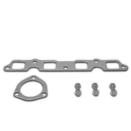For 1974 to 1982 toyota Corolla 1.8L 3T -C E70 Aluminum Exhaust Manifold Header Gasket Set 75 76 77 78 79 80 81 Toyota 4runner Exhaust Manifold Gasket
