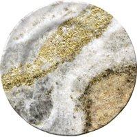 """Merritt - Melamine Round Salad Plate - Golden Granite - 8"""""""