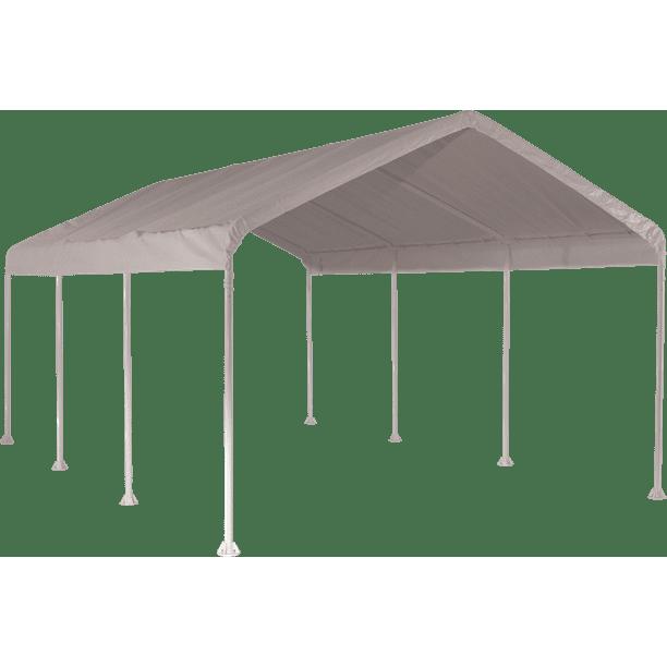 Shelterlogic Super Max Canopy 10 X 20 Ft Waterproof And Durable Outdoor Canopy Walmart Com Walmart Com
