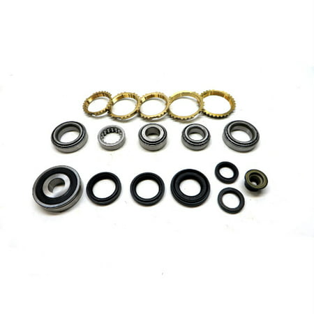 MV3 Transmission Bearing/Seal Kit w/Synchro Rings 98-01
