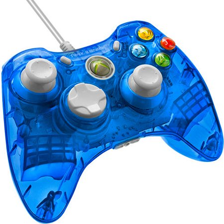 Rock Candy Wired Controller For Xbox 360  Blueberry Boom