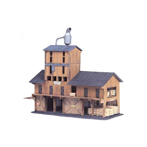 Model Power 1565 N Scale Lumber Yard Kit