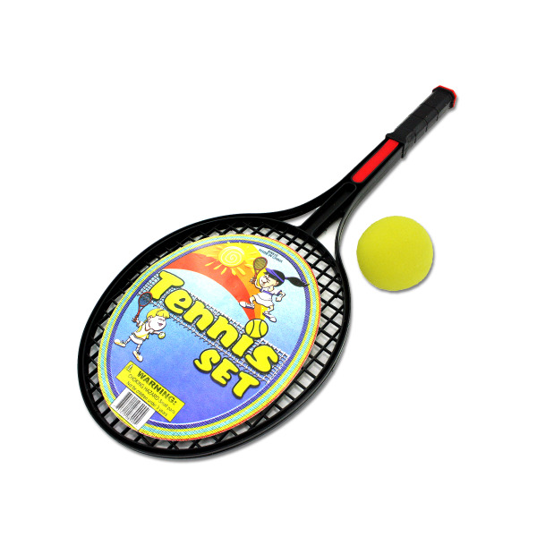 Tennis Racquet Set With Foam Ball (Pack Of 24)