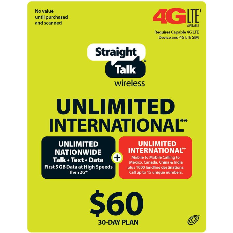 Straight Talk Unltd T/t/d 500mb 4g 30day