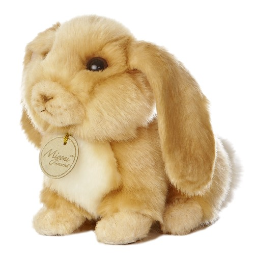 "8"" Lop Eared Rabbit Miyoni Aurora Plush Stuffed Animal"