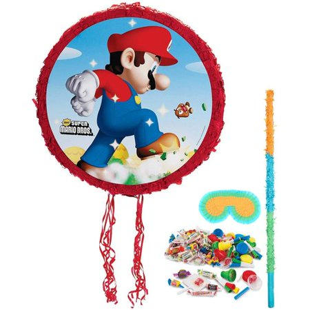 Super Mario Bros Pinata Kit - Mario Star Pinata