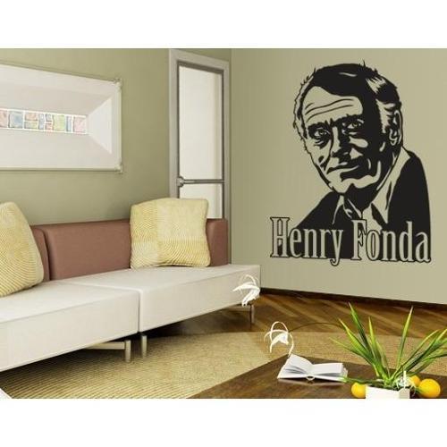 Style and Apply Henry Fonda Wall Decal Vinyl Art Home Decor