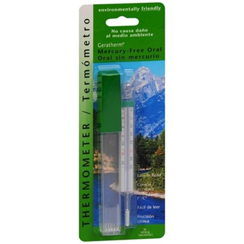 Geratherm Thermometer Oral Mercury Free 1 Each (Pack of 6)
