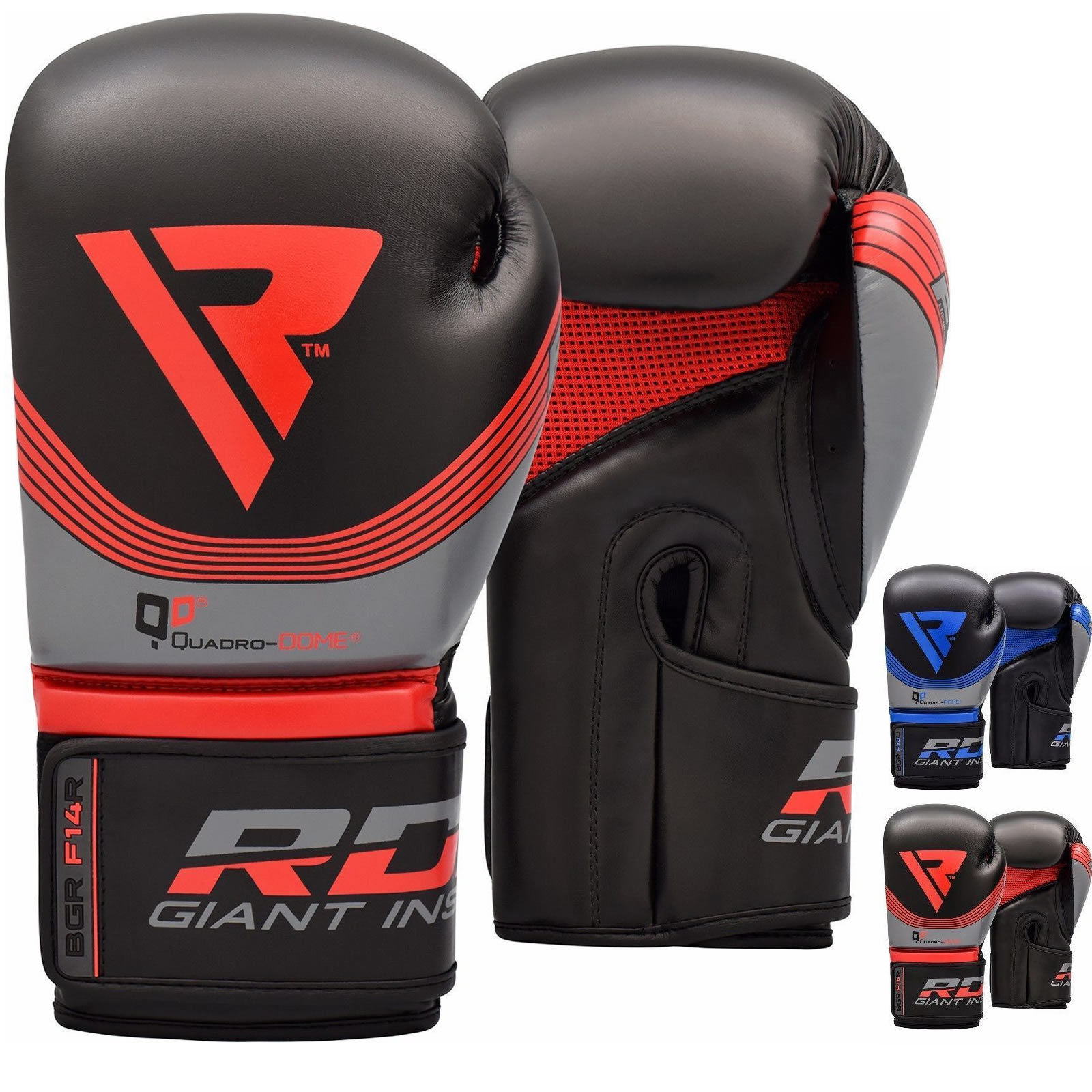 RDX Boxing Practice Training F14 Gloves Punching Bag Sparring Glove MMA Combat