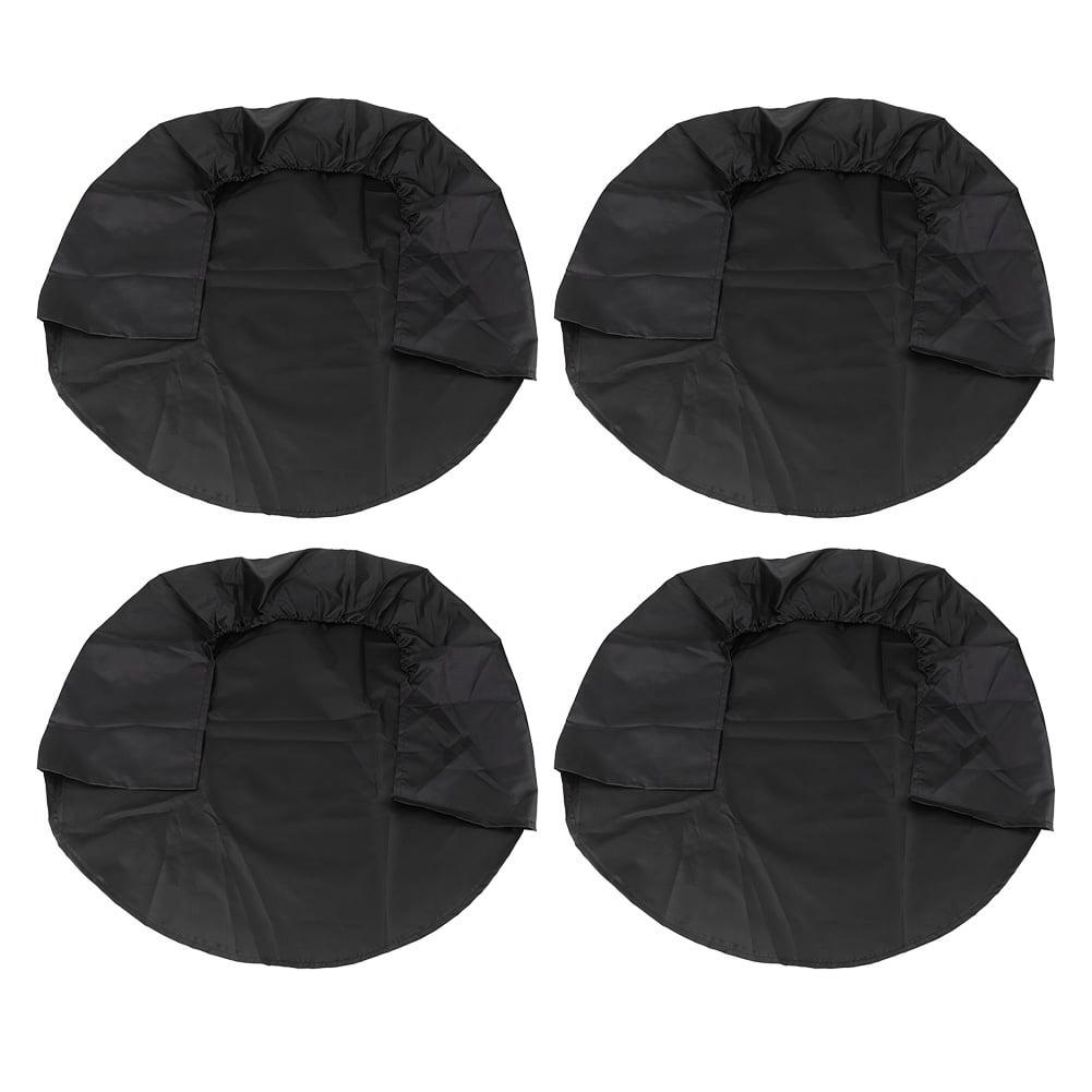 4pcs 32/'/' Black Wheel Tire Covers Weatherproof for RV Truck Car Camper