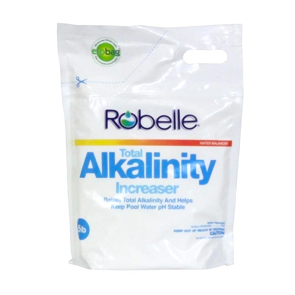 Robelle Total Alkalinity Increaser for Swimming Pools, 5 Pounds