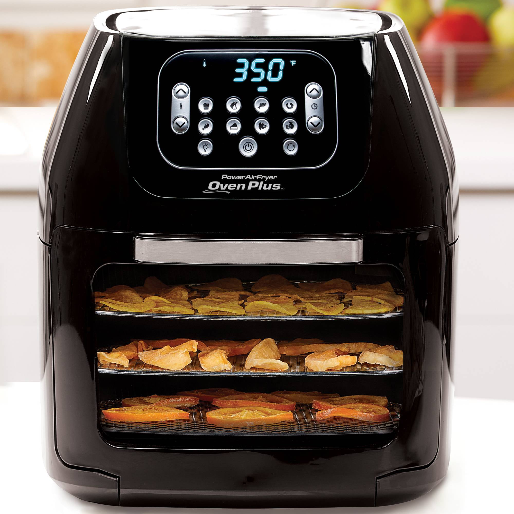 Power Air Fryer Oven All-in-One 6 Quart Plus Dehydrator