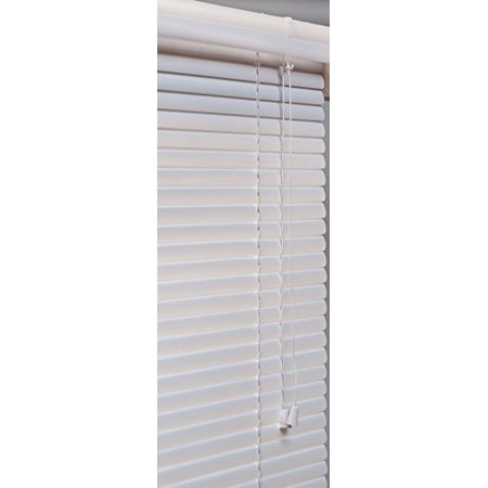 Lotus windoware 1 inch pvc mini blind 14 by 48 inch for 15 inch window blinds