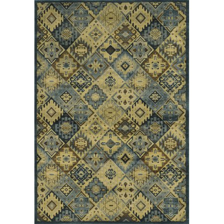 Gatney Rugs Lake Area Rugs So4448 Contemporary Blue Light Blue