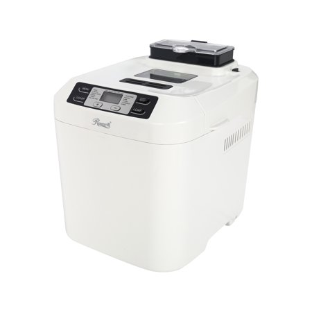 Rosewill 2 Pound Programmable Bread Maker With Automatic Dispenser  Gluten Free Menu Setting  Rhbm 15001