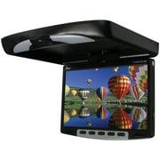 Tview T139DVFDBK 13'' Flipdown Wide Screen W/built In Dvd Player