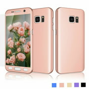 newest 870ce d035b Samsung Galaxy S7 Case, Galaxy S7 Screen Protector, S7 Sturdy Cover, Njjex  Hard Case Full Protective With Tempered Glass Screen Protector Case For ...