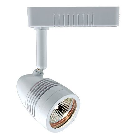 Voltage Track Lighting Fixture - Jesco Lighting HLV14050 1 Light Halogen Mini Deco Track Head