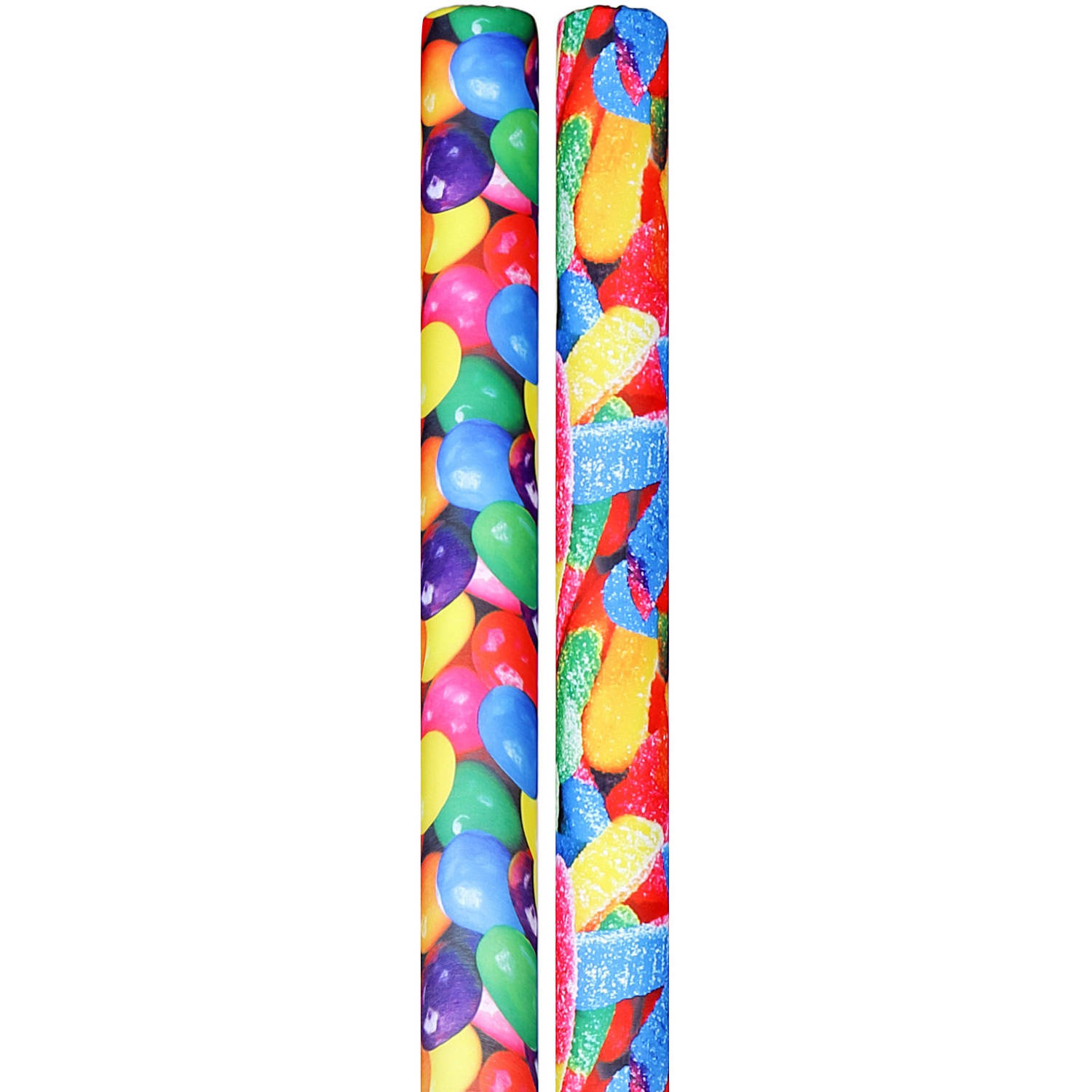 Designer Noodle Pool Noodles Bundle, Gumballs and Sour Gummy Worms
