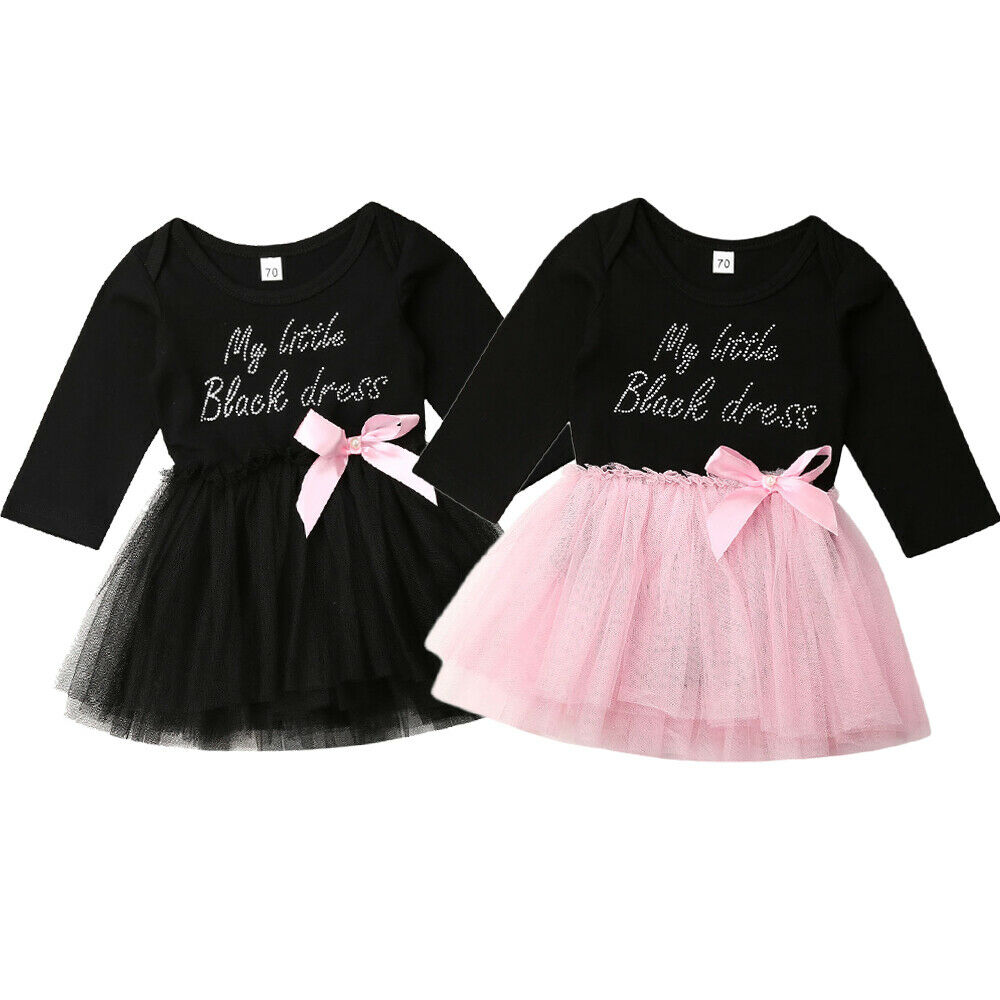 Loveble Toddler Newborn Baby Girl Romper Casual Party Tulle Dress
