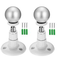 2-pack Outdoor/Indoor Magnetic Ball Wall Mount Holder for Arlo, Arlo Pro, Arlo Pro 2 Security Camera